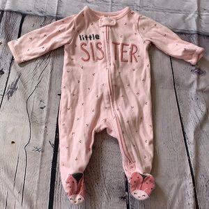 🐞 3/$25 Little Sister Onesie Sleeper